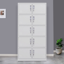 10 Door Metal Storage Locker