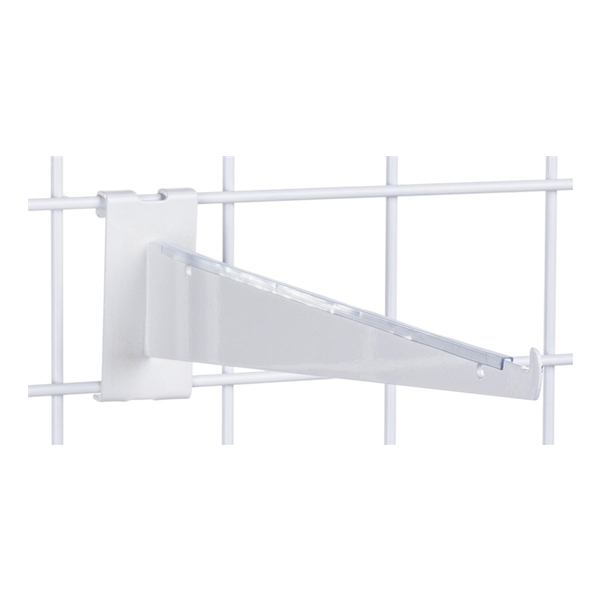 "12"" Gridwall Shelf Bracket for Retail Stores"