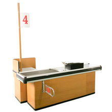 New Design of Supermarket Cashier Counter