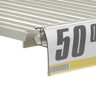 Price Channel Label Holder for Wire Shelves