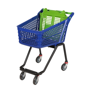 2018 July New plastic shopping cart P-12B120L