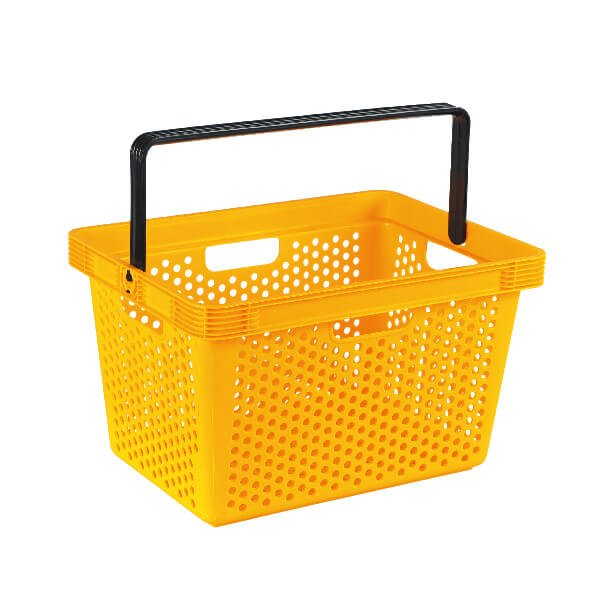 Single Handle Shopping Basket B-6