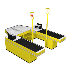 Double Side Checkout Counter