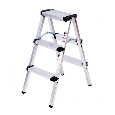A Type 3 Step Aluminum Ladder