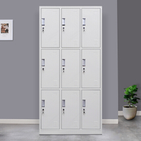 9 Door Metal Storage Locker