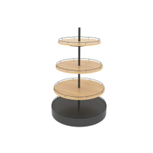 Round Supermarket Display Rack