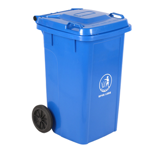 Supermarket Or Restaurant Big Capacity Wheeled Garbage Bucket