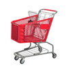 Plastic Shopping Cart P-1(100L)