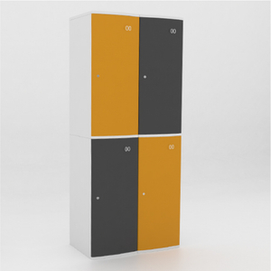 4 Door Plastic ABS Locker