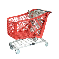 2018 September NEW Plastic Shopping Cart 220L
