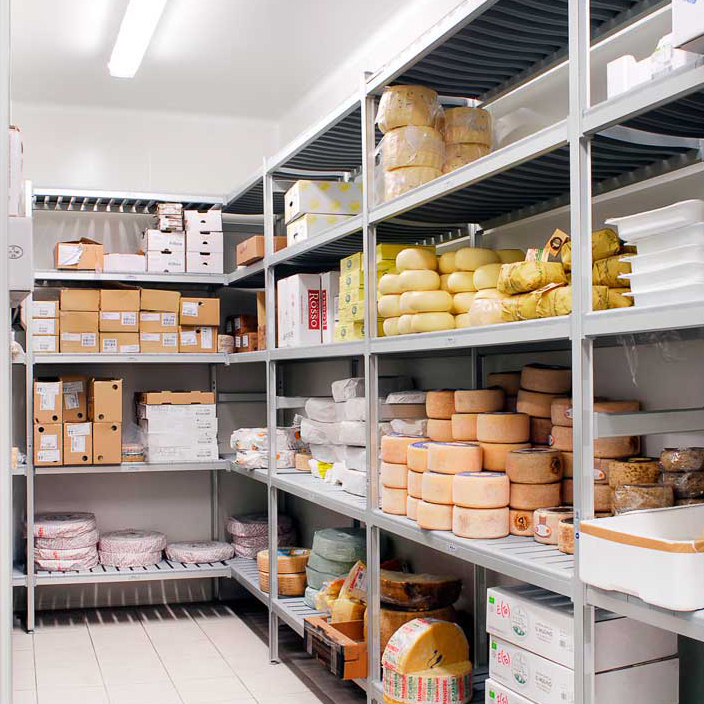 Polypropylene Cold Room Shelving