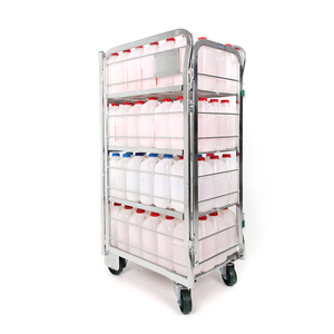 Roll Cage Milk Trolley