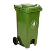 HDPE Heavy-duty 120L Colourful Garbage Can