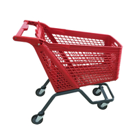 2018 July New plastic shopping cart P-12B210L