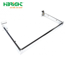 Slatwall Clothes D-Rail Square Tube