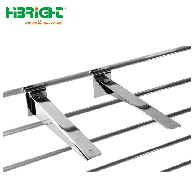 Slatwall Brackets for Wood Shelves