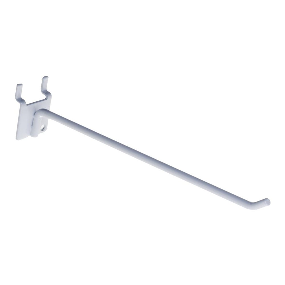 Single prong pegboard hook with metal base