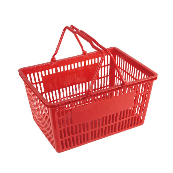 25L Double Handle Shopping Basket B-7