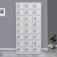 24 Door Metal Storage Locker
