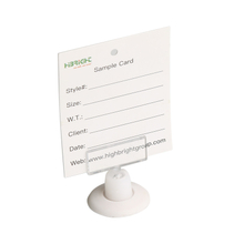 Adhesive Base Sign Holder