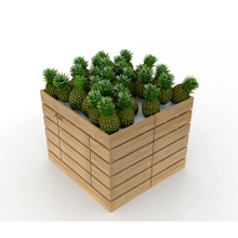 Foldable Orchard Bin for Fruit And Vegetable Display