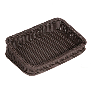Slope Rattan Basket for Fruit And Vegetable Display